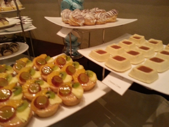 Cakes at the Taj Hotel