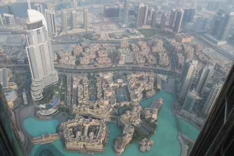 A view of Dubai.